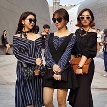 그녀들의 속보이는 우정? 서울패션위크에서 만난 베프들의 '버디패션'