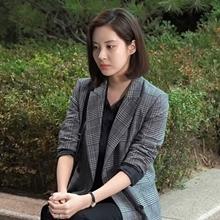 [그 옷 어디꺼] '도둑놈 도둑님' 청순보스 서현의 트렌디한 체크 재킷 어디꺼?