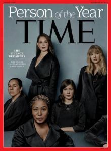 타임, 올해의 인물로 '성폭력 침묵을 깬 여성들' 선정