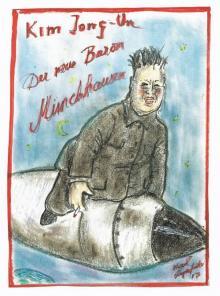 칼 라거펠트, 북한 독재자 김정은 '허풍선이 남작'으로 풍자