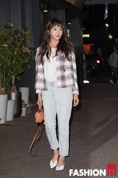 [패션엔 포토] 정유미·스테파니리·윤지민·노수산나, 종방연 패션 코드는 '데님'