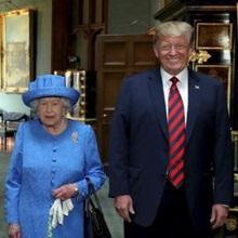 92세 영국 여왕의 괴로운 3일...브로치 3개로 트럼프 대통령 디스