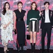 [패션엔 포토] 김하늘·하지원·윤아·이종석, 가을밤 밝힌 하이엔드 파티룩!
