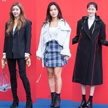 [패션엔 포토] 박한별·김희정·이혜정, '더 갱' 쇼 장식한 위트 넘치는 캐주얼룩!