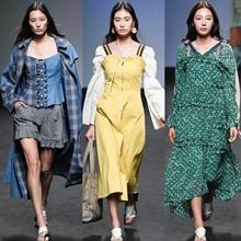 [리뷰] 페미닌으로 변주된 우먼파워, 이청청 '라이' 2019 봄/여름 컬렉션