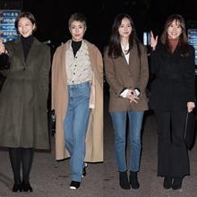 [패션엔 포토] 이솜·이윤지·김윤혜·이연두, '제3의 매력' 매력있는 종방연 패션