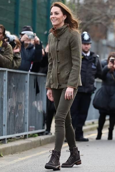 케이트 미들턴, 패션 여왕의 센스! 브리티시 컨트리 캐주얼룩