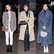[패션엔 포토] 소이현·이민정·박수아·심이영, 운명과 분노 종방연 패션 배틀