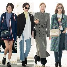 [패션엔 포토] 김서형·염정아·윤세아·오나라, 화제의 캐슬퀸 낭만 여행룩!