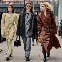 다양한 7가지 색깔! 2019 가을/겨울 뉴욕 패션위크 스트리트 패션