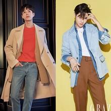 박보검·찬열·수호·옹성우·원빈, 워너비 스타의 봄스타일 따라잡기