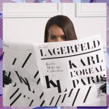 로레알 파리, 칼 라거펠트 메이크업 컬렉션 출시