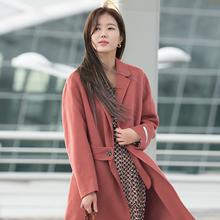 [패션엔 포토] 임수향, 흩날리는 코트자락! 러블리 핑크 코트룩
