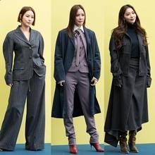 [패션엔 포토] 김성령·손태영·오윤아, 미스지 컬렉션 빛낸 고품격 가을룩