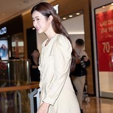 [패션엔 포토] 차정원, 청순한 파스텔 드레스룩 '여신 자태'