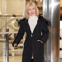 [패션엔 포토] 레드벨벳 웬디, 금발이 너무 예뻐! 걸크러시 블랙 패딩룩
