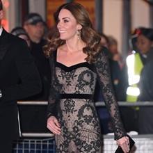 케이트 미들턴, 섹시한 듯 기품있는 파티 드레스룩