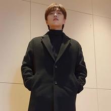 [그 옷 어디꺼] B1A4 산들, 훈훈한 올블랙룩! 오버핏 코트 어디꺼?